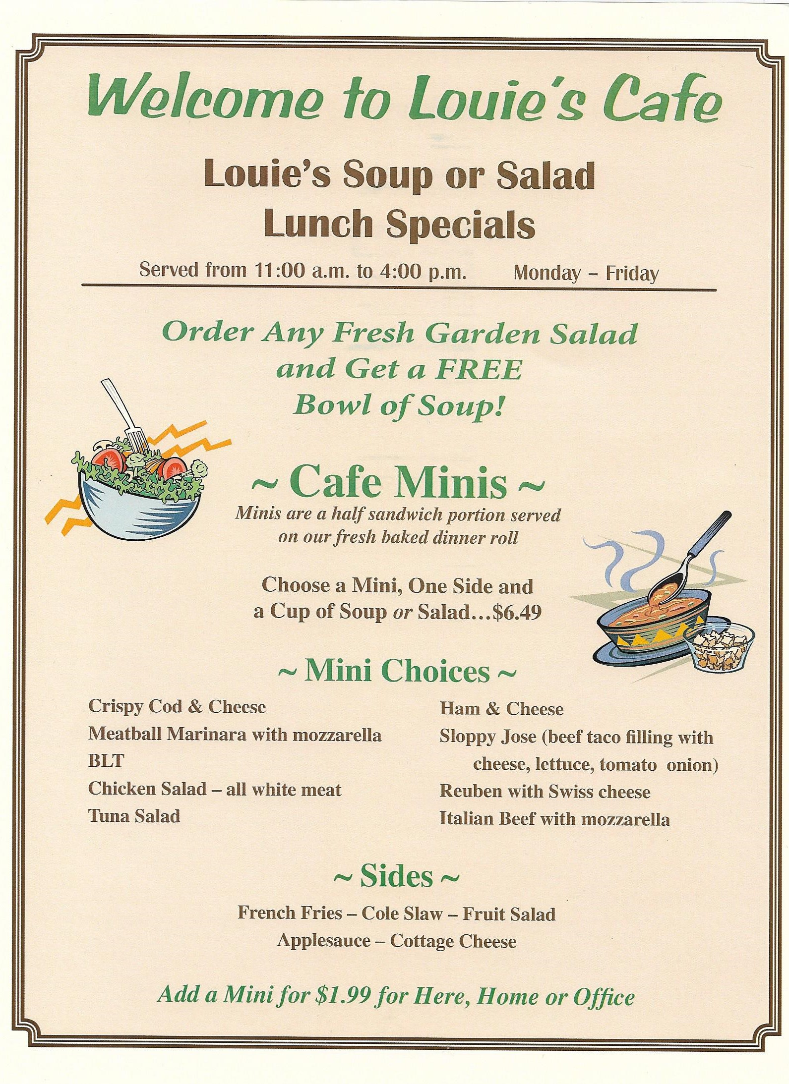 Louie S Cafe La Porte In